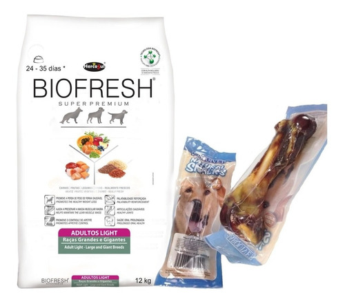 Biofresh Light Raza Grande 12 Kg Con Regalo