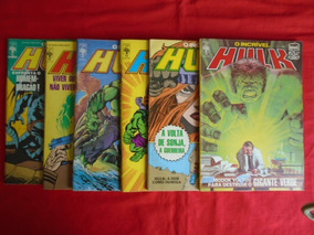 O Incrível Hulk - Nºs 40, 41, 42, 43, 44, 45/ Frete: 10,00