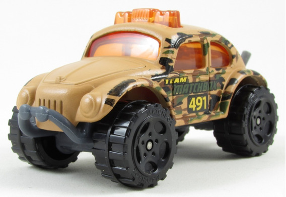 G3 1/57 Matchbox Vw Fusca Volkswagen Beetle 4x4 - 2005