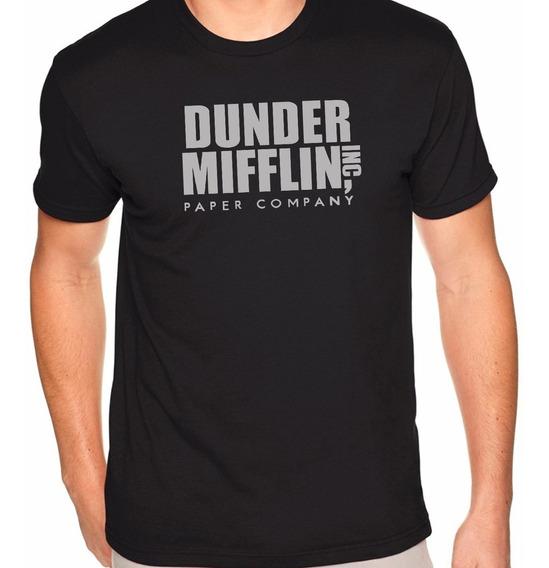 Camiseta Dunder Miffilin Geeks Nerds Série The Office
