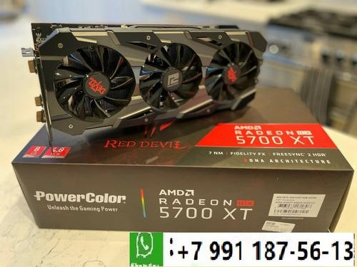 Imagen 1 de 2 de Powercolor Red Devil Radeon Rx 5700 Xt 8gb Gddr Scheda Video