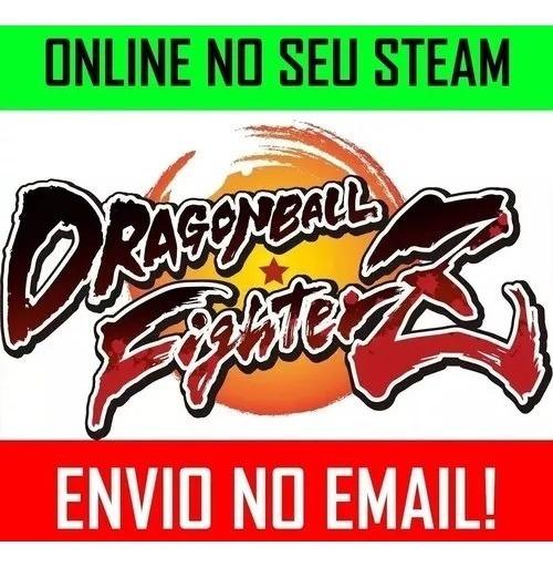 Dragon Ball Fighterz Z Pc Online No Seu Steam + Dlcs