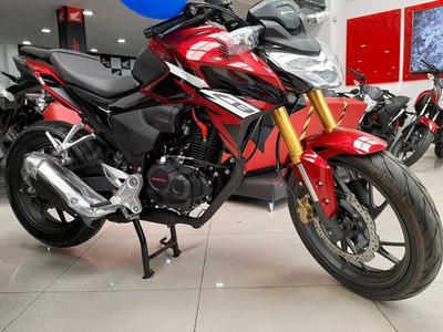 Moto Honda Nueva Cb 190r Modelo 2021 Version 2.0 Negra Roja