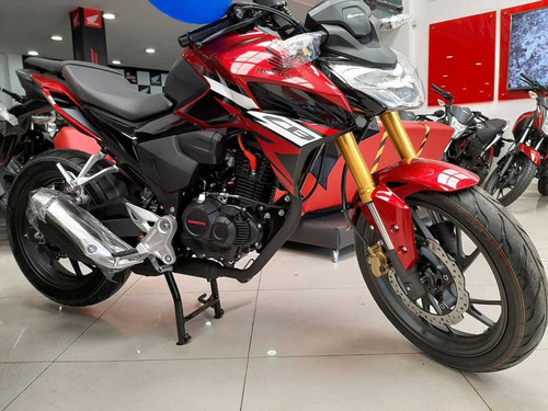 Moto Honda Nueva Cb 190r Modelo 2022 Version 2.0 Negra Roja