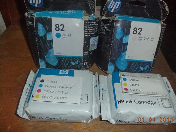 Cartucho De Tinta Hp 82 Negro, Azul,amarillo