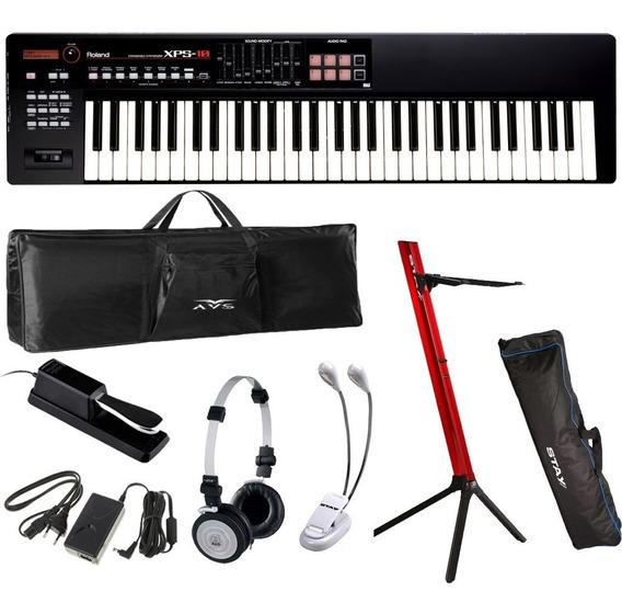 Teclado Roland Sintetizador Xps10 61 Teclas Roland + Kit