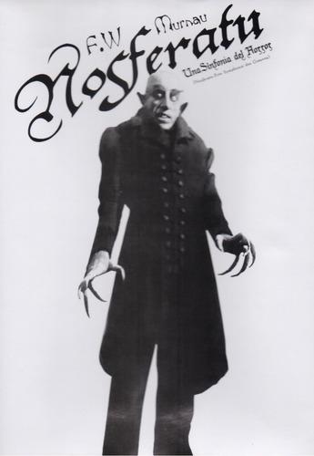 Imagen 1 de 3 de Nosferatu 1922 Una Sinfonia Del Horror Pelicula Original Dvd