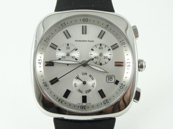 Relógio Amsterdam Sauer - Masculino - Swiss - 100% Original