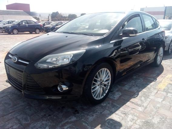 Ford Focus Hb Trend Sport 2014 Tela Piel Q/c, Opción Crédito