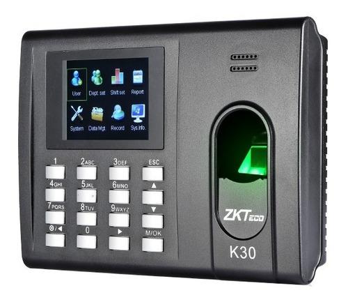 Reloj Biometrico Zk K30 Control De Acceso Y Asistencia