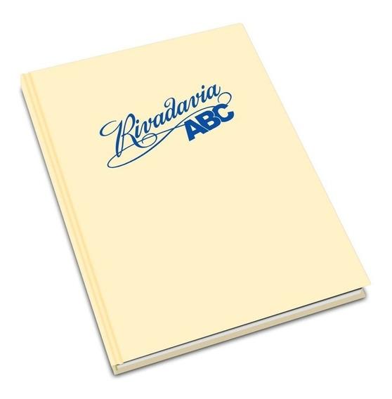 Cuaderno Rivadavia Abc Liso 50 Hojas Tapa Dura