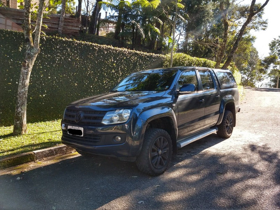 Amarok Highline Cd 4x4 Automática 2012