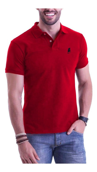 Kit 04 Camisas Camisetas Revenda Gola Polo Masculina Atacado