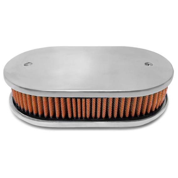 Elemento Filtrante Filtro De Ar Esportivo Oval (laranja)
