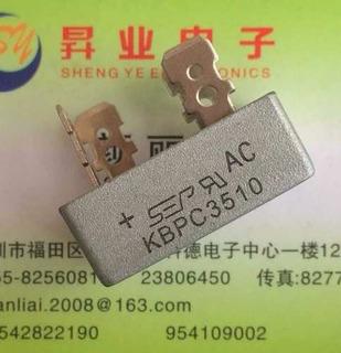 Kbpc 3510 Kbpc-3510 Kbpc3510 Puente Monofásico 35a1000v