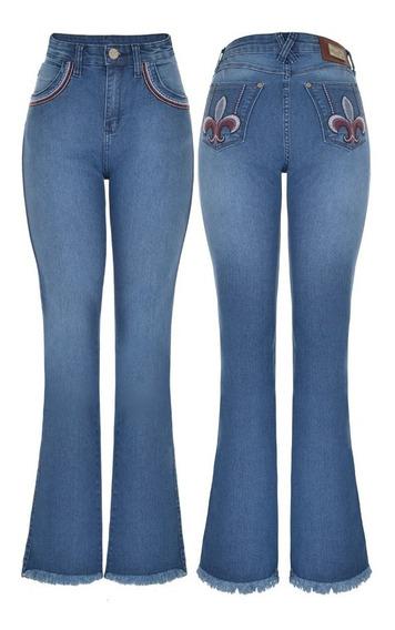Calça Wrangler Feminina Jeans Wf6m028 - Tamanho 36
