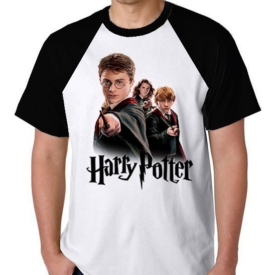 Camiseta Harry Potter Camisa Blusa Masculino Feminino Filme
