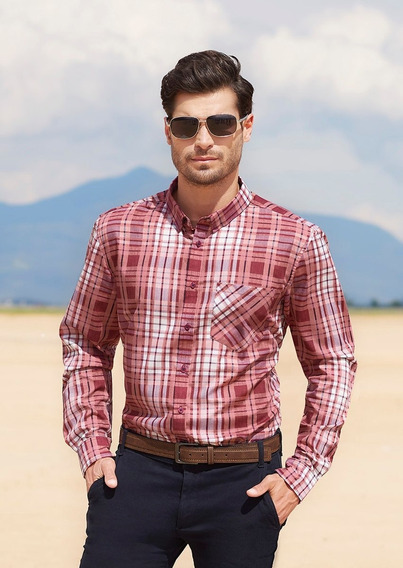 Camisas Vino 1403534