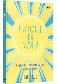 Livro - O Milagre Da Manhã Super Promoção Livro Físico