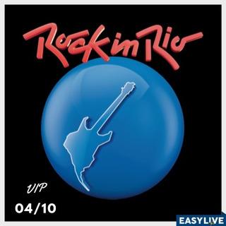 Ingresso Vip Rock In Rio 04/10