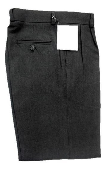 Pantalon Colegial Sarga Gris Talles: 38 Al 52