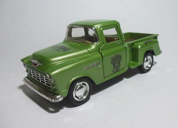 1955 Chevy Stepside Gas Monkey- 1/32 - Kinsmart - Custom