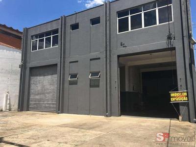 Galpão Para Alugar, 1180 M² Por R$ 18.000/mês - Vila Guilherme - São Paulo/sp - Ga0637