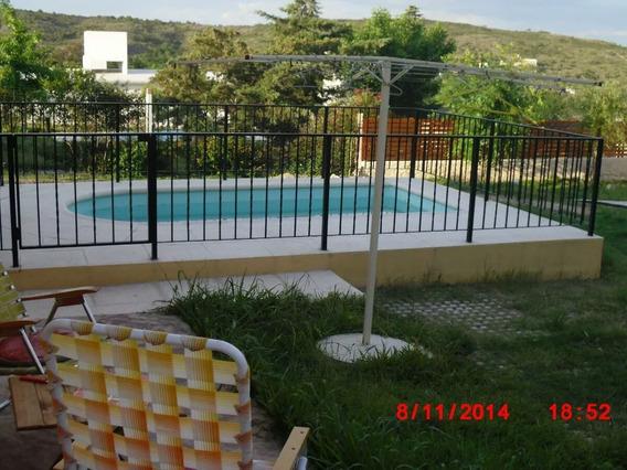 Alquiler Temporario Casa Con Pileta En Tanti