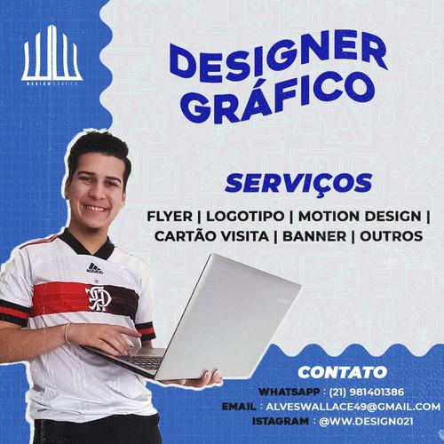 Imagem 1 de 6 de Design Gráfico - Freelancer - Todo Tipo De Arte Digital