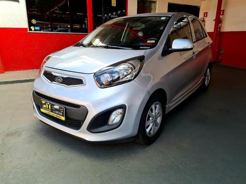 Kia Motors Picanto Ex 1.0 Prata 2012