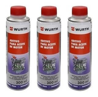 Aditivo Antifriccion Para Aceite De Motor Wurth 300 Ml