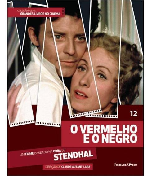 Dvd + Livro O Vermelho E O Negro - Stendhal - Vol 12