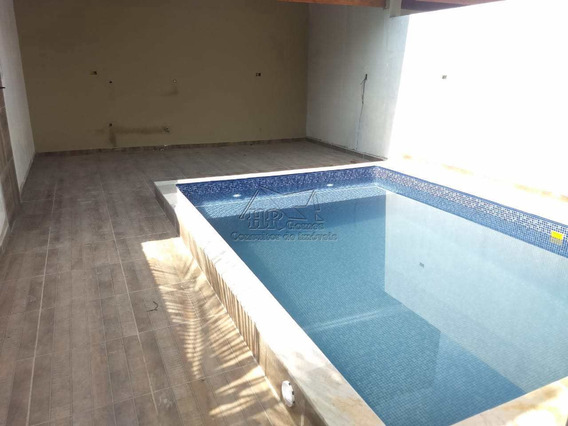 Casa Nova A Venda, Piscina E Churrasqueira 400 Metros Da Praia - V235