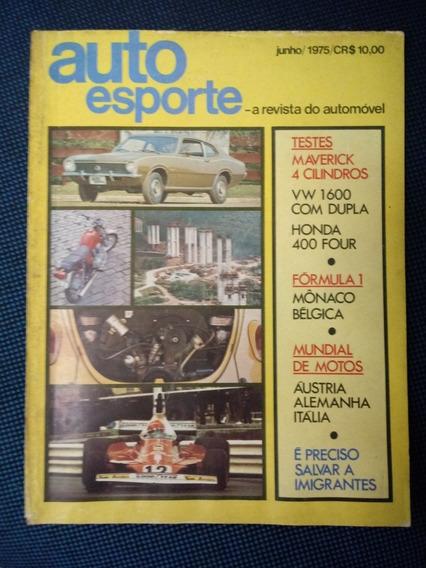 Revista Auto Esporte Maverick