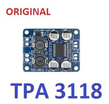 Tpa3118 - Placa Amplificador Digital 60 W Rms 12v A 24v Mono