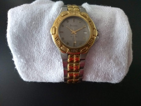 Relógio Bulova Original Masculino Dourado Aço Inoxidável