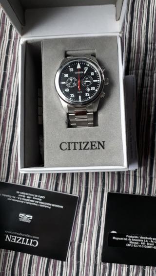 Relógio Citizen Cronografo Esportivo Tz30795t Na Caixa