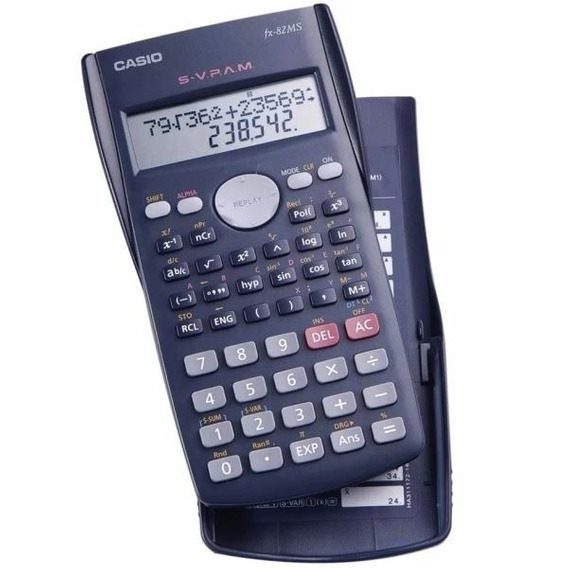 Calculadora Cientifica Casio - S-v P.a.m.- Fx-82ms