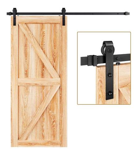 Imagen 1 de 6 de Easelife - Kit De Rieles Para Puerta Corredera De Granero De