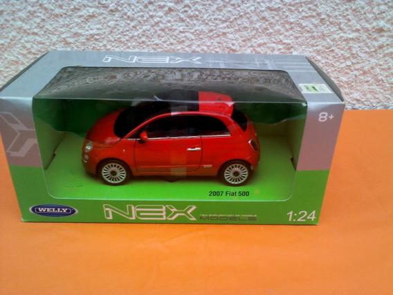 Welly Nex Fiat 500 2007 1/24