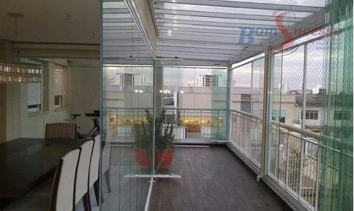 Imagem 1 de 24 de Apartamento Com 2 Dormitórios À Venda, 175 M² Por R$ 1.550.000,00 - Vila Carrão - São Paulo/sp - Ap0963