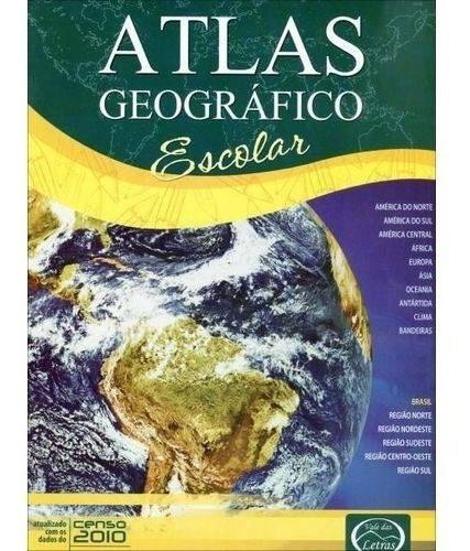 40 Atlas Geográfico Escolar Ilustrado Menor Preço E Frete!!!