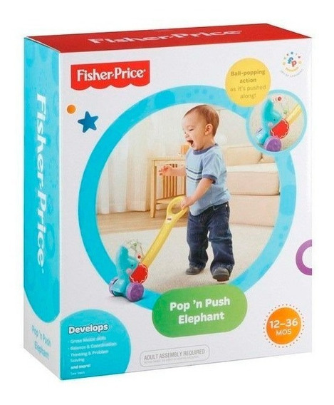 Fisher Price Elefante Caminador Y8651 E. Full