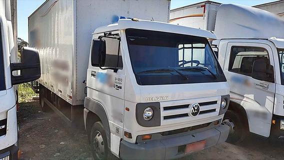 Volkswagen Vw 9150 Delivery Baú 6 Metros Pneus Novos