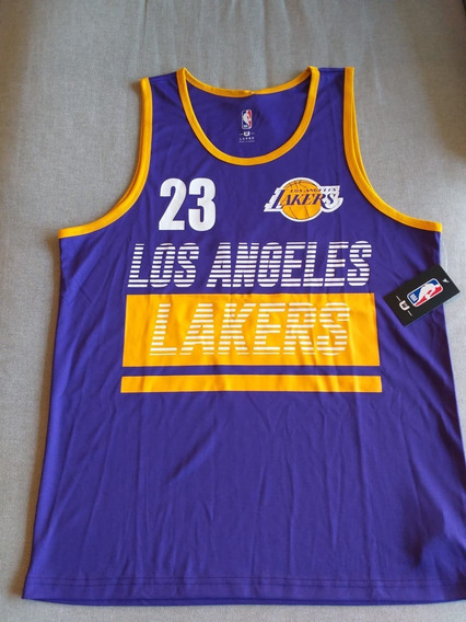 Camiseta Basquete Masculino Nike La Lakers Lebron James 23