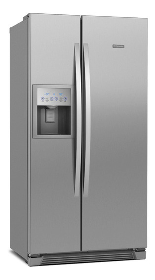 Refrigerador Side By Side Frost Free 504l Titanium Ss72x