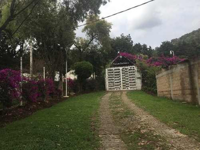 Espectacular Rancho En Tenancingo, Que Cuenta Con Maravillosas Vistas Y Un Clima Privilegiado (templ