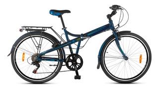 Bicicleta Plegable Aurora Folding F26 Rodado 26 Aluminio *