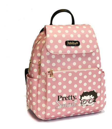 Cartera / Mochila Original Betty Boop 80954b Pink