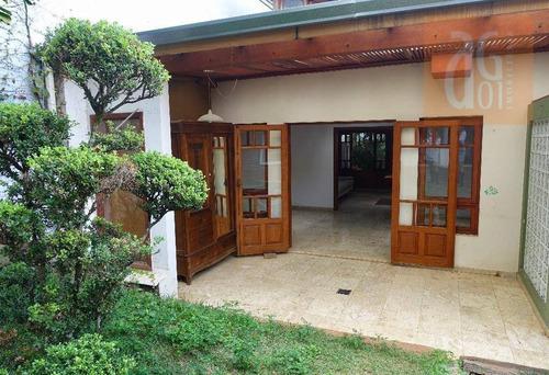 Casa Com 3 Dormitórios À Venda, 200 M² Por R$ 3.200.000,00 - Vila Madalena - São Paulo/sp - Ca0548
